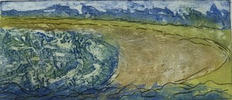 collagraph with drypoint